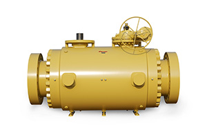 Custom DoubleTrunnion Mounted Ball Valve 01