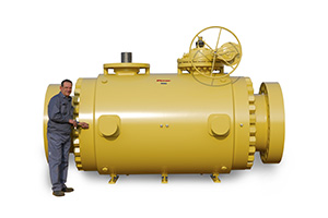 Custom DoubleTrunnion Mounted Ball Valve 02