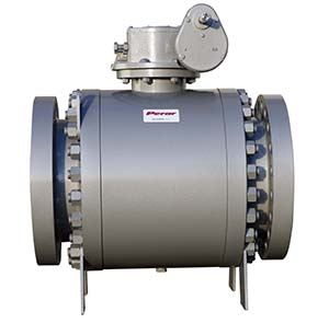Split Body Side Entry Trunnion Mounted Ball Valve 02
