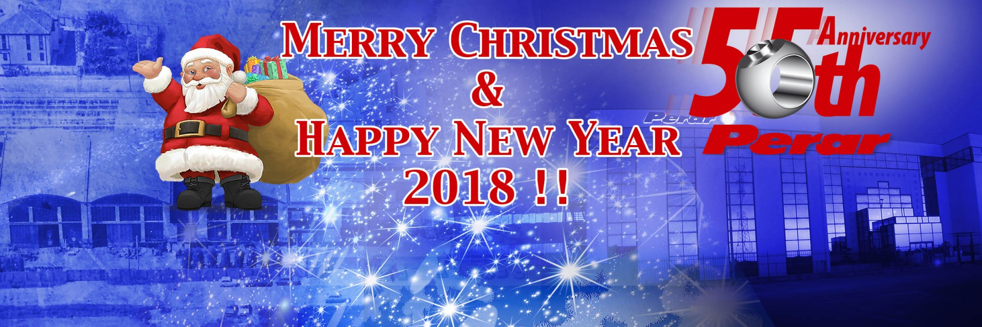 Merry Christmas and Happy New 2018